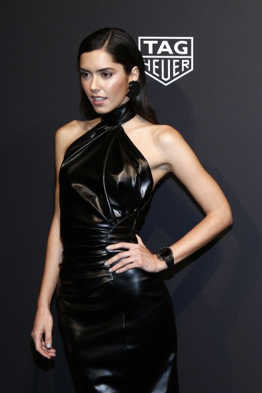PAULINA VEGA at Launch of New Connected Watch by Tag Heuer in New York 03/12/2020