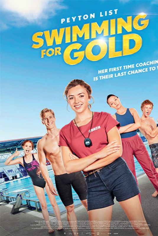 PEYTON ROI LIST – Swimming for Gold Poster and Promos