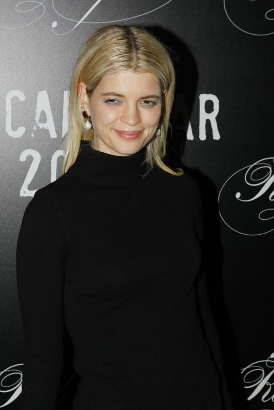 PIXIE GELDOF at CR Fashion Book x Redemption Party in Paris 02/28/2020