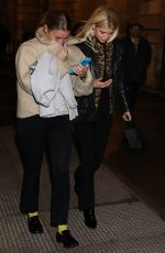 PIXIE GELDOF Leaves Carine Roitfeld x Redemption Party in Paris 02/28/2020