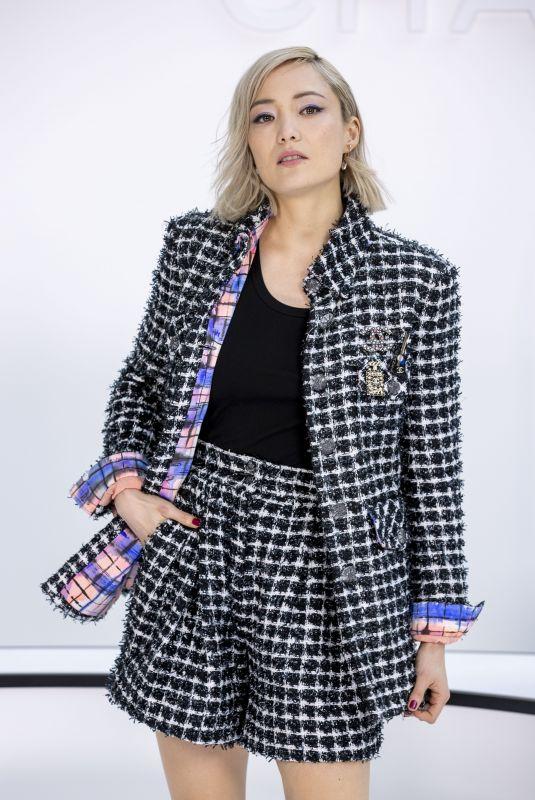 POM KLEMENTIEFF at Chanel Show at Paris Fashion Week 03/03/2020
