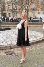 POPPY DELEVINGNE Arrives at Miu Miu Fashion Show in Paris 03/03/2020