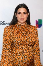 Pregnant AMERICA FERRERA at National Hispanic Media Coalition Impact Awards in Los Angeles 02/28/2020