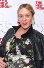 Pregnant CHLOE SEVIGNY at Off-broadway