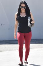 Pregnant NIKKI BELLA Out in Los Angeles 03/04/2020