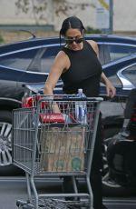 Pregnant NIKKI BELLA Shopping at Whole Foods in Sherman Oaks 03/11/2020