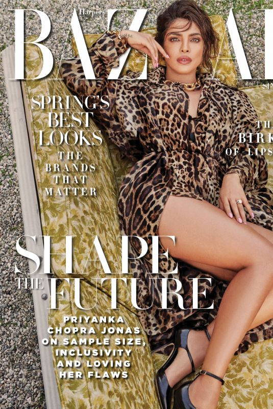 PRIYANKA CHOPRA in Harper's Bazaar Magazine, Singapore March 2020