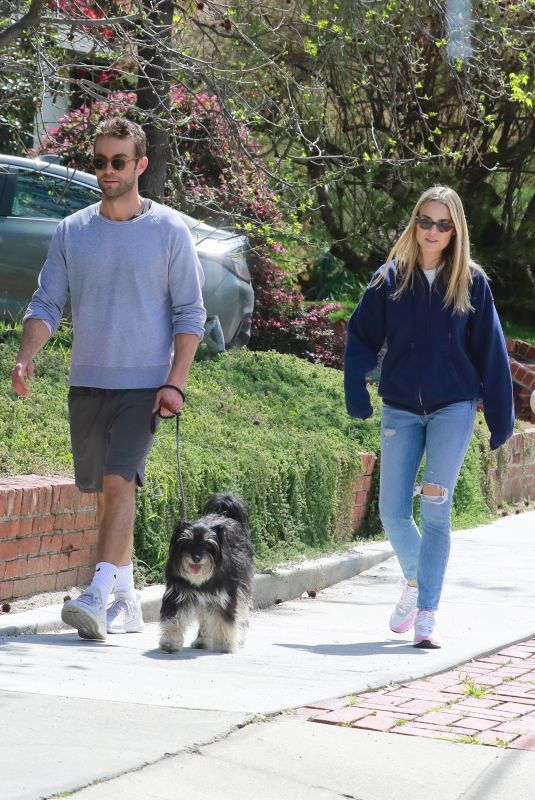 REBECCA RITTENHOUSE and Chace Crawford Out in Los Feliz 03/25/2020
