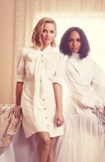 REESE WITHERSPOON and KERRY WASHINGTON in Emmy Magazine 2020 Issue No.2