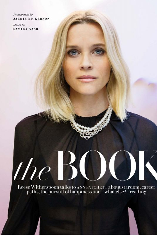 REESE WITHERSPOON for Vanity Fair Magazine, April 2020