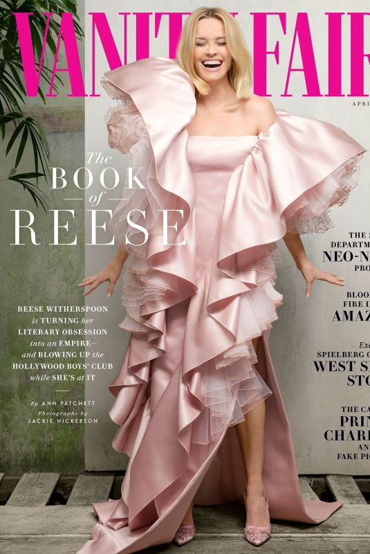 REESE WITHERSPOON in Vanity Fair Magazine, April 2020
