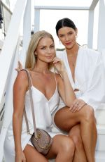 RENAE AYRIS and BRITTANY HOCKLEY at Magnum Luxe Launch in Sydney 03/25/2020