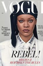 RIHANNA for Vogue Magazine, UK May 2020