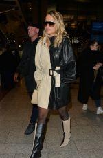RITA ORA Arrives in Paris 03/01/2020