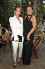 RITA ORA at International Womens Day for the Caring Foundation with Salma Hayek in London 03/08/2020