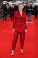 ROSAMUND PIKE at Radioactive Premiere in London 03/08/2020