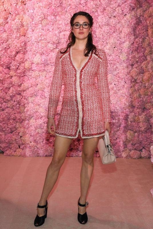 SAHILENE WOODLEY at Giambattista Valli Fashion Show at PFW in Paris 03/02/2020