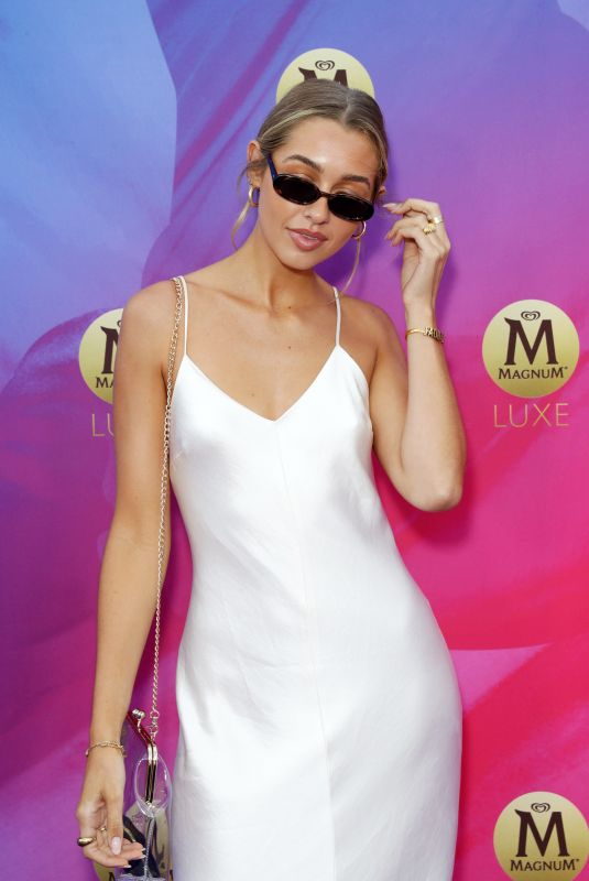 SAMMY ROBINSON at Magnum Luxe Launch in Sydney 03/25/2020