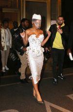 SAWEETIE Leaves Her Hotel in New York 02/09/2020