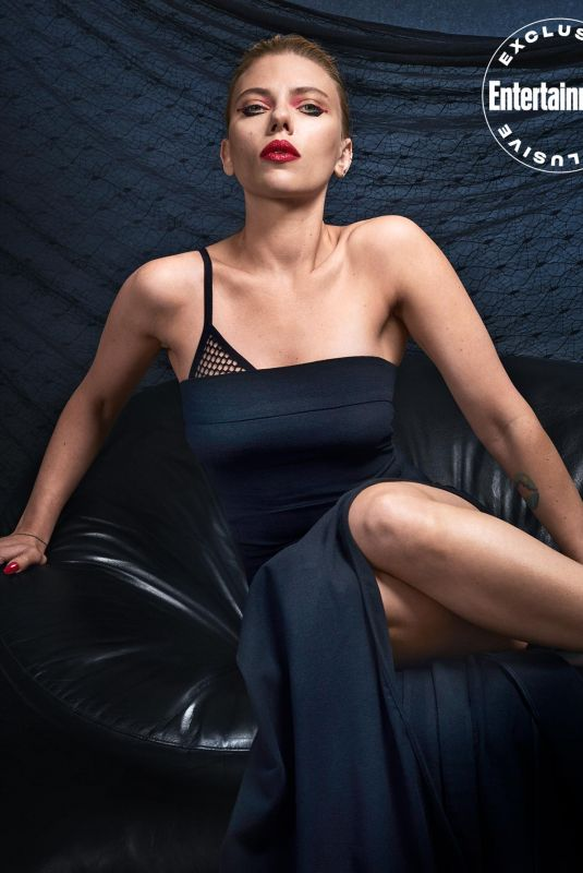 SCARLETT JOHANSSON for Entertainment Weekly, March 2020