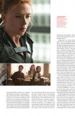 SCARLETT JOHANSSON in Entertainment Weekly, March 2020