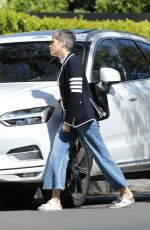 SELMA BLAIR Arrives at David Lyons Home in Los Angeles 03/30/2020