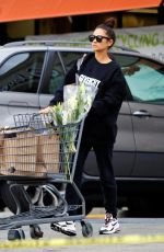 SHAY MITCHELL Out Stocking Up on Groceries in Los Angeles 03/16/2020