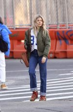 SIENNA MILLER Out and About in New York 03/11/2020