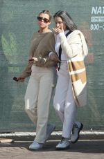 SOFIA RICHIE Out with Her Mom DIANE for Lunch in Malibu 03/07/2020