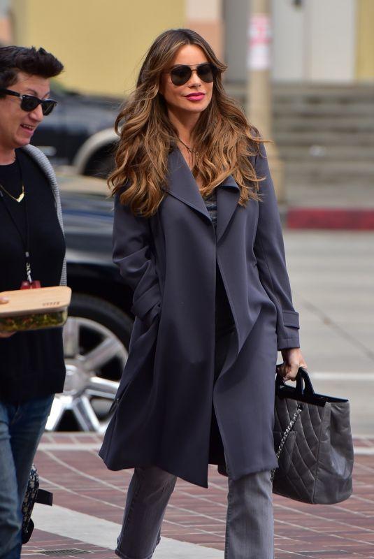 SOFIA VERGARA Arrives at America's Got Talent in Pasadena 03/11/2020