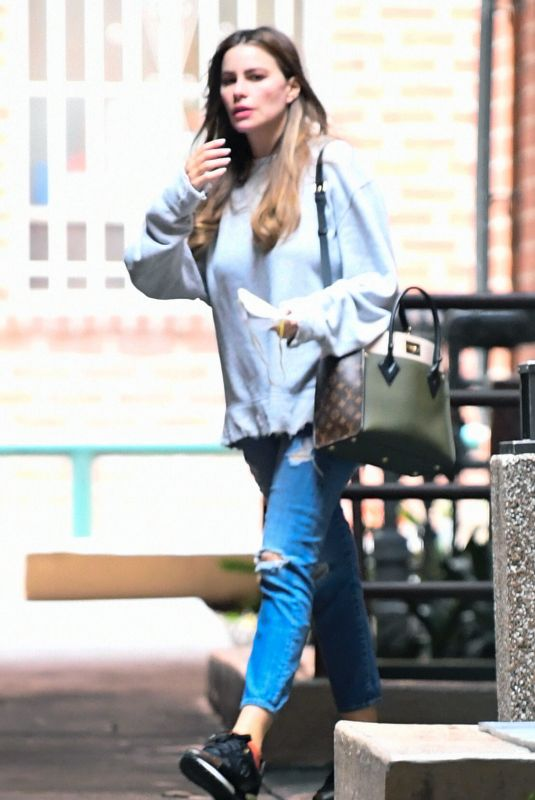 SOFIA VERGARA Out Shopping in Los Angeles 03/17/2020