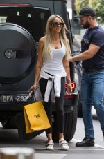 STACEY HAMPTON Out Shopping in Melbourne 03/21/2020