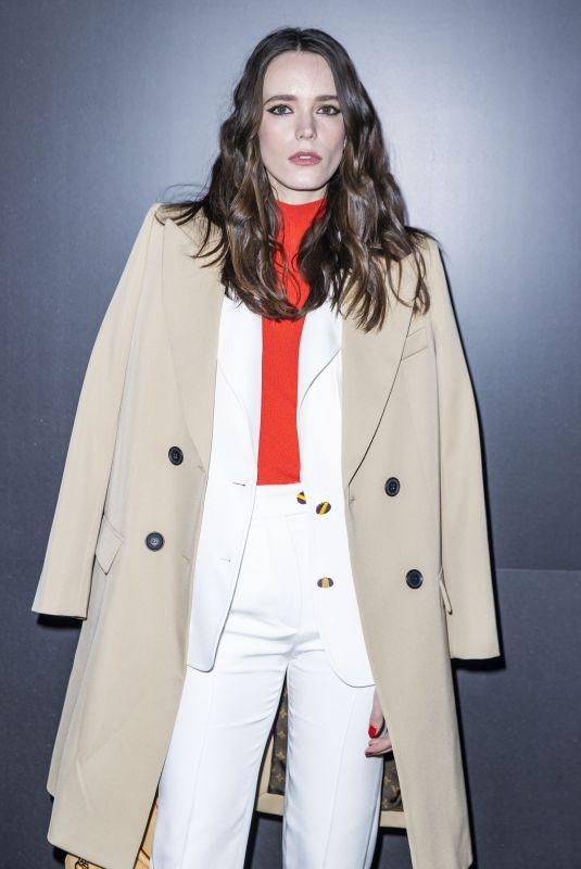 STACY MARTIN at Louis Vuitton Show at Paris Fashion Week 03/03/2020