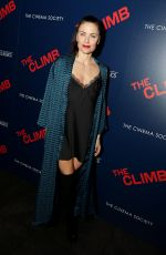 TARA WESTWOOD at The Climb Special Screening in New York 03/12/2020