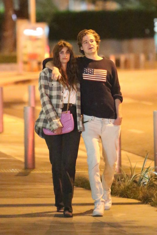 TAYLOR HILL and Daniel Fryer Noght Out in Los Angeles 03/02/2020