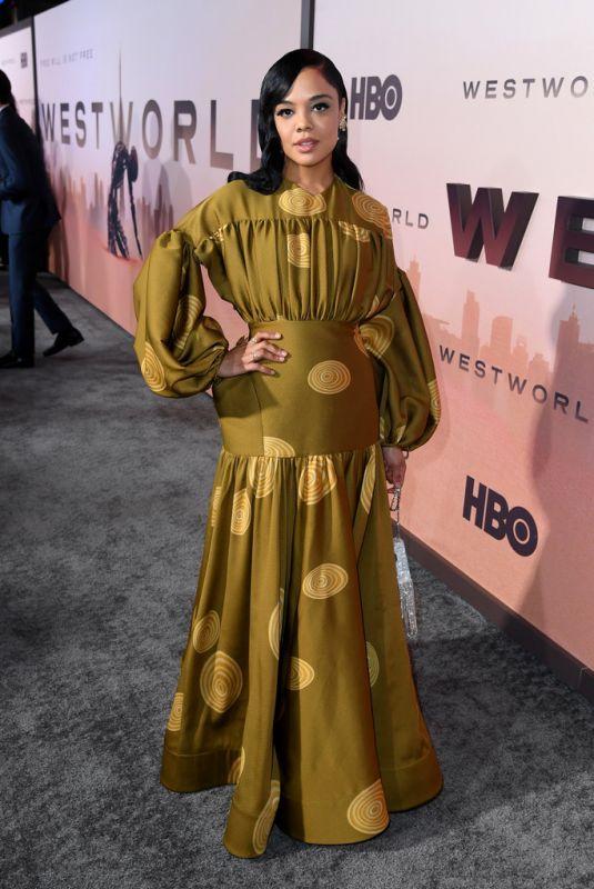 TESSA THOMPSON at Westworld, Season 3 Premiere in Hollywood 03/05/2020