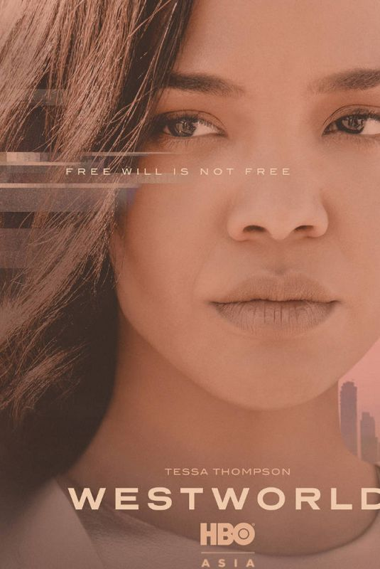 TESSA THOMPSON – Westworld, Season 3 Promos