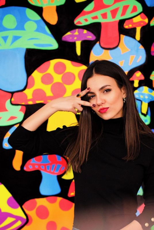 VICTORIA JUSTICE at a Photoshoot in New York, March 2020