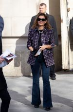 VIRGINIE LEDOYEN Arrives at Chanel Show at Paris Fashion Week 03/03/2020