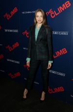 VLADA ROSLYAKOVA at The Climb Special Screening in New York 03/12/2020