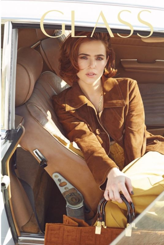 ZOEY DEUTCH in Glass Magazine, Spring 2020