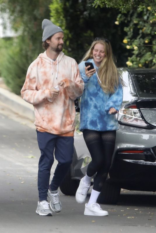 ABBY CHAMPION Out and About in Brentwood 04/18/2020