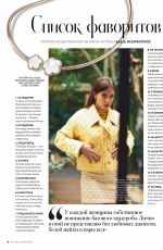 ADELE EXARCHOPOULOS in Instyle Magazine, Russia May 2020