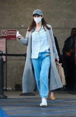 ALEXANDRA DADDARIO Wearing Face Mask while Shopping in Los Angeles 04/02/2020