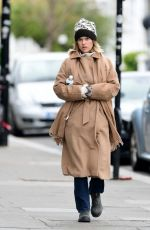ALICE EVE Out and About in London 04/03/2020