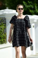 ALICE EVE Out and About in London 04/25/2020