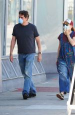 ALYSON HANNIGAN and Alexis Denisof Out Shopping in Los Angeles 04/23/2020