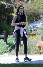 AMNDY MOORE Out and About in Los Angeles 04/14/2020