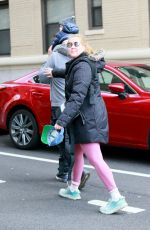 AMY SCHUMER Out and About in New York 03/31/2020
