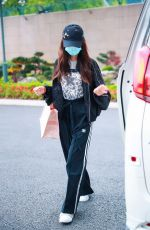 ANGELA YEUNG Arrives at Airport in Shanghai 04/15/2020